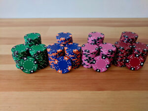 Brybelly clay poker chips