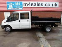 Ford Transit 350 D/CAB TIPPER WITH A/C
