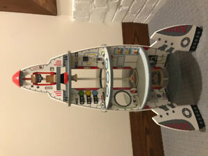 Hape Discovery Space Centre- solid wood toy with accessories