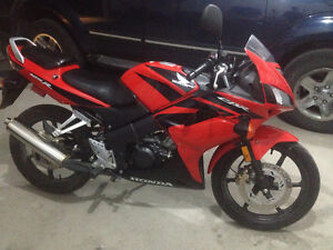 Absolutely mint condition, fuel injected Honda CBR 125R