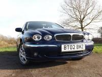 2002 JAGUAR X TYPE 2.0 V6 SE 4dr Auto Lovely example