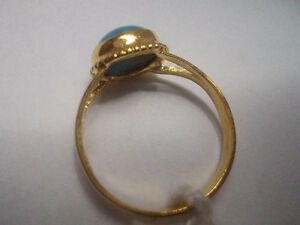 Gold Ring with Turquoise Windsor Region Ontario image 3