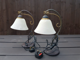 SIDE LAMPS WITH BULBS