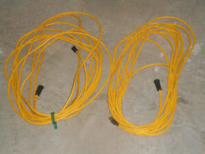 15 meter extension cords.