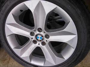 Original BMW Mags and Tire 255/50R19 Bolt pattern 5X120