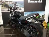 2016 KAWASAKI ER6N - ABS ,Low Mileage,Tinted Screen,Hugger,Fender Extender.
