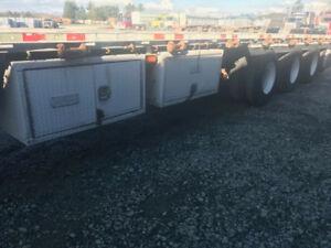 Manac drop axel maxi trailer for sale