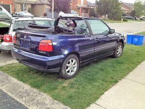 1996 Volkswagen Cabrio Convertible