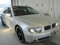 745 i   2002 condition show-room GPS