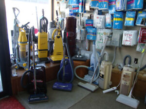 VACUUMS! BAGS! FILTERS! PARTS!