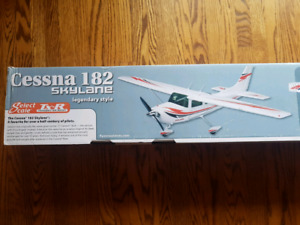 Remote control airplane.  RC plane