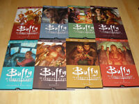 Buffy the Vampire Slayer books, comics, yearbook, tv guides