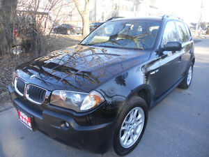 2004 BMW X3 SUV, Crossover 2.5 eng. 4x4 loaded 5995