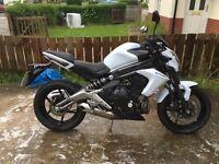 Kawasaki er6n 2012