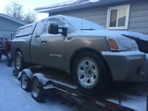 2006 Nissan Titan for parts