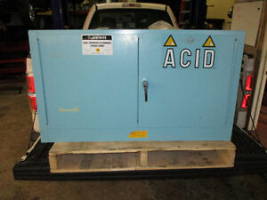 JustRite brand new acid, flammables or corrosives cabinet. 17Gal