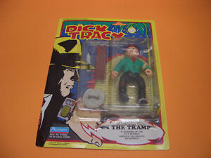 (2) DICK TRACY FIGURES THE TRAMP AND DICK TRACY London Ontario image 2