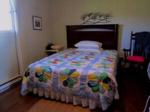 Grande chambre meublé près de Caraquet