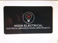Moon Electrical and Home Improvements, free quote anytime.