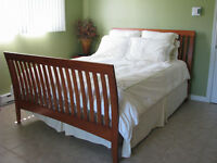 Queen size bed frame for sale