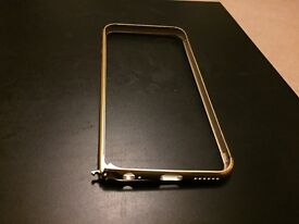 Brand new Gold iPhone 6(s) metal frame