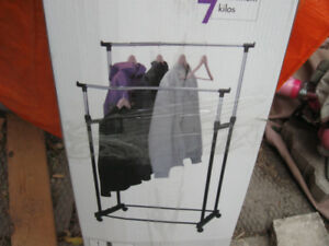 New in box clothes stand