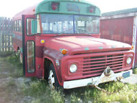 1975 Red Ford Bus - Trade?