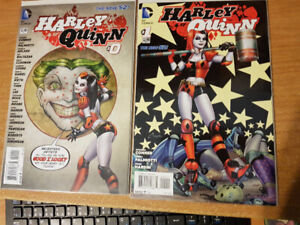 Harley Quinn #0-4 New 52 with Extra's (8 Book Set)