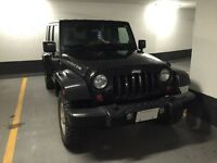 "2009 Jeep Wrangler Unlimited ""Rubicon"" Black"