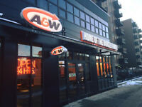 Cashier and Cook Team Members A&W- 17th Ave SW Calgary, AB