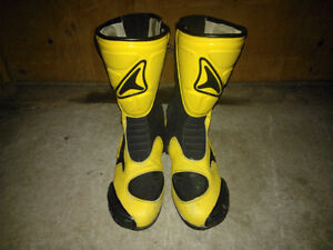 Motorcycle Boots, Teknic Street Size 9 and Thor Dirt Size 6
