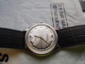 Minty Vintage 17 jewel Swiss Mens Watch