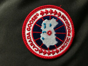 MENS LARGE BLACK CANADA GOOSE VEST