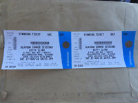 2 x Biffy Clyro Tickets, Glasgow, 27th August