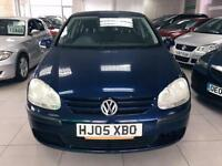 2005 Volkswagen Golf 1.4 MY S - 4Stamp - 1Keeper - Invoices Available