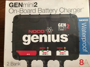 Noco Genius on-board battery charger