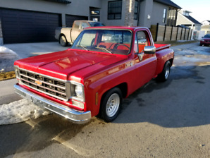 1978 C10 Stepside square body with BB 454