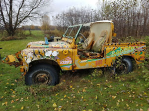 VINTAGE LAND ROVERS PROJECTS