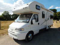 Swift Royale 620 Ensign - 5 Berth Motorhome - Omnistor Awning