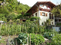 SWAP Idyllic 3 bed chalet in French Alps for 3/4 bed house in Bristol EXTREMELY RARE LOCATION