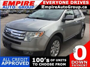 2008 FORD EDGE LIMITED * AWD * LEATHER * PANO SUNROOF