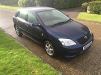Toyota Corolla 1.6 VVT-i auto T3 1 LADY OWNER FROM NEW