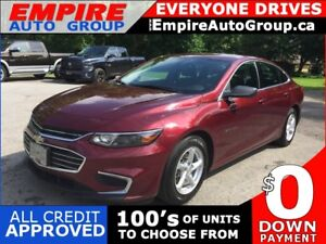 2016 CHEVROLET MALIBU LS * REAR CAM * BLUETOOTH * VOICE COMMAND