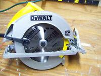 """Dewalt 7-1/4"""" Corded Circular Saw"""