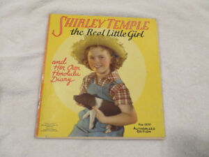 1938 Shirley Temple The Real Little Girl and Her Honolulu Diary