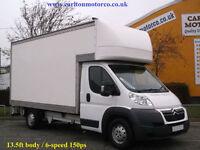 2012/12 Citroen Relay 2.2HDi (150ps) Heavy 35 L4 Luton Box Van