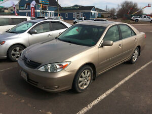 2003 Toyota Camry XLE Other