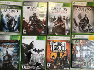 Xbox 360 games only, (console sold)