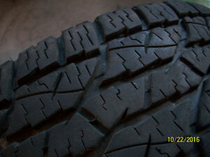 Wild Country Radial XTX Winters 235/75R15