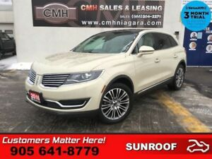 2016 Lincoln MKX Reserve  RESERVE ADAP-CC LANE-KEEP CW CS PANO-R